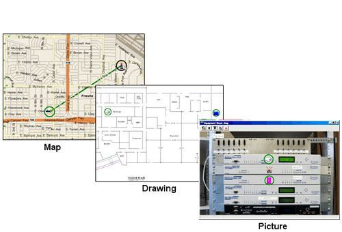 Map, Drawing, Picture