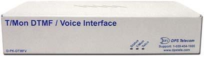 T/Mon DTMF/Voice Interface