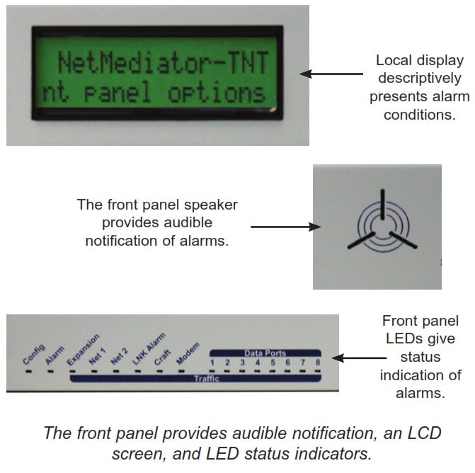 NetMediator Alarm Callouts