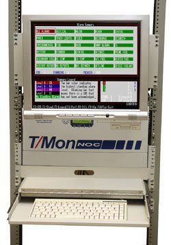 T/Mon NOC Rack-Mount LCD and Keyboard